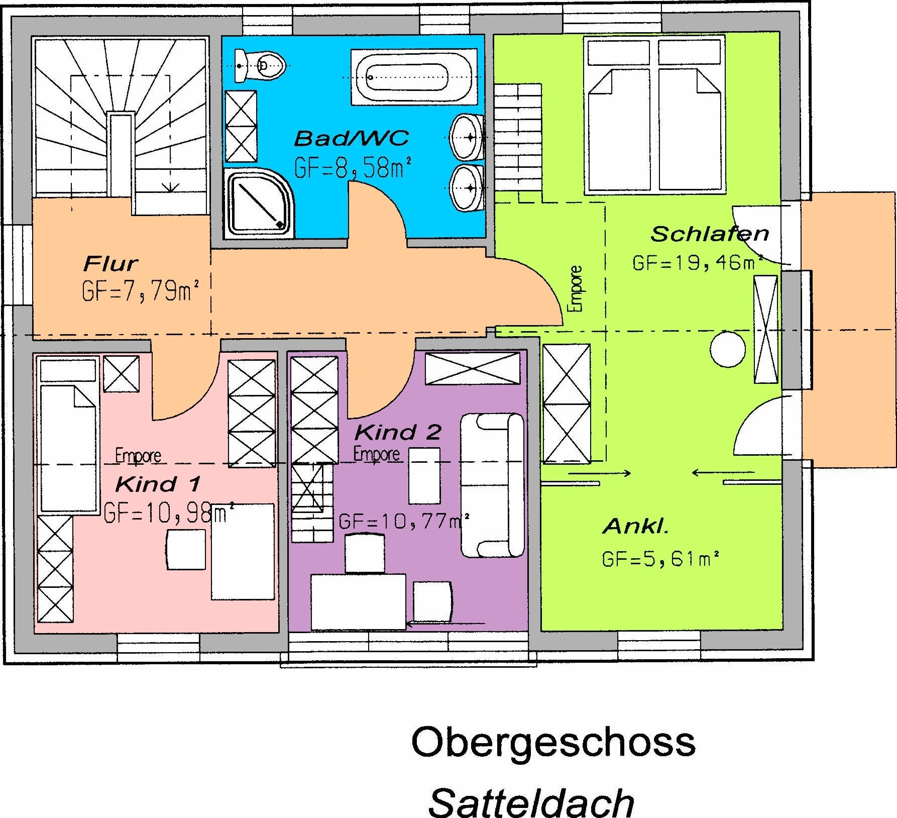Grobios Grundriss OG Satteldach  Bauplanung Grosch size: 1786 x 1628 post ID: 9 File size: 0 B